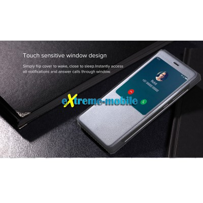 Xiaomi Redmi Note 4 Original S-View Case grey