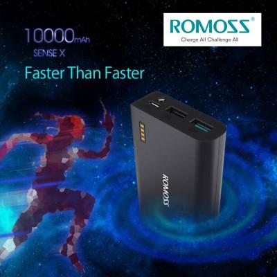 ROMOSS SENSE X QUICK CHARGE 3.0 - 10000MAH