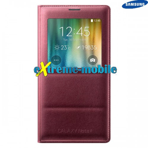 new products efeb7 9a6c6 Samsung Galaxy Note 4 (N910) Original S-View Flip Cover Case