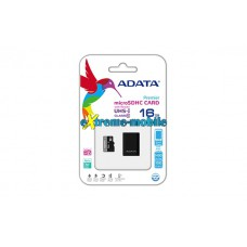 ADATA Premier 16GB microSDHC Card Class 10 UHS-I with Adapter
