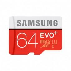 microSDXC 64GB EVO Plus Samsung Class 10 w/o Adapter (EU Blister)