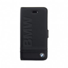 BMFLBKP7LLLSB BMW Signature Black Book Case for iPhone 7 Plus