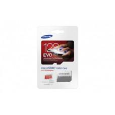 microSDXC 128GB EVO Plus Samsung Class 10 with Adapter (EU Blister)