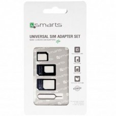 4smart Universal SIM Set Adapter 3pcs (EU Blister)