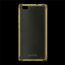 Kisswill Shock TPU Case Gold for Huawei P8 Lite