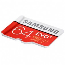 microSDXC 64GB EVO Plus Samsung Class 10 with Adapter (EU Blister)
