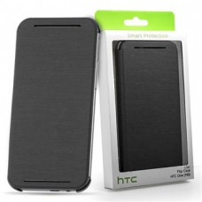 HTC HC V941 Flip Case Grey for ONE2/M8 (EU Blister)